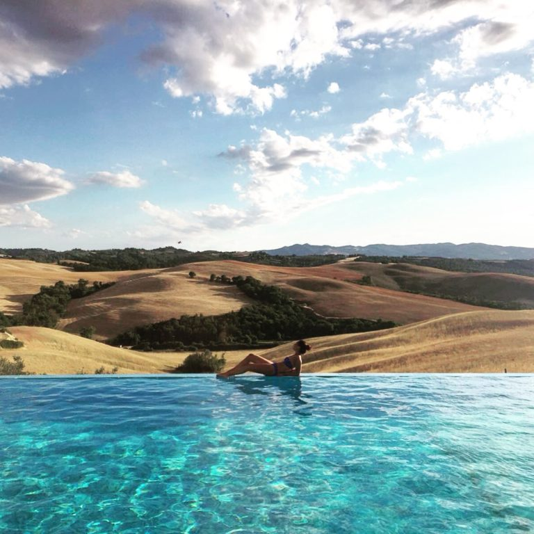 Summer escape in Volterra